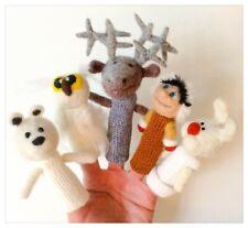 Groenland - ensemble de marionnettes à doigts faites à la main.