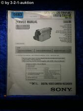 Sony Service Manual DCR TRV12E TRV14E TRV19 TRV19E Level 3 Digital Video (#5683)