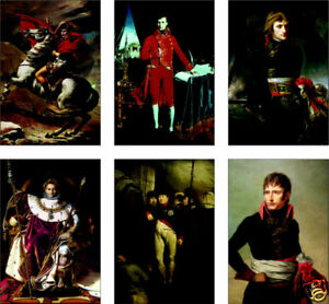 Napoleon Bonaparte 6 Card POSTCARD Set