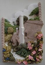 """LILLIPUT LANE """"SOMERSET SPRING TIME - PLAQUE-SIGNED BY PAINTER"""" 00723  MIB"""