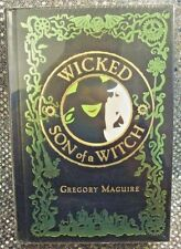 GREGORY MAGUIRE : WICKED AND SON OF A WITCH (2008) LEATHER BOUND / NEW / SEALED!