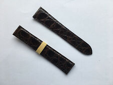 Cartier Original Alligator Dark Brown 19/16mm Strap - Cinturino Originale