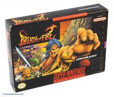 SNES Spiel - Breath of Fire (US) (mit OVP) NEUWERTIG