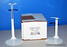 "12 Kaiser 2001 Doll Stands 6.5-11"" White 4 Madame Alexander Ginny Action Figures"