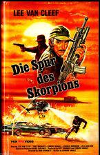 Die Spur des Skorpions - Lee Van Cleef - Tony Musante - VHS