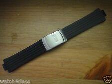 Genuine Oris Rubber silicon Band strap bracelet 42501 & s/s Buckle - Williams F1