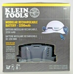 Klein Tools Modular Rechargeable Battery 29025, 3200mAh, for Cooling Fan 60155
