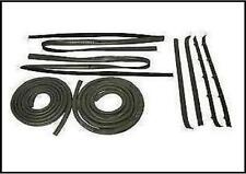 81-86 CHEVY GMC PICKUP TRUCK WEATHERSTRIP DOOR SEAL KIT RUBBER WINDOW GLASS