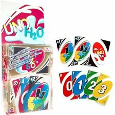 New Family Fun #1 UNO H2O Waterproof Clear Game Playing Card US - Free Shipping