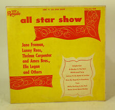 All Star Show LP Vinyl Record album