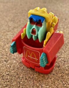 VINTAGE FRENCH FRIES MCDONALDS AUSSIE CHANGEABLES TRANSFORMERS TOY ACTION FIGURE