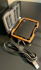 Seagate 2TB Backup Plus Slim Portable External Hard Drive(Model:SRD00F1) + Case