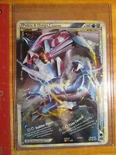 NM JUMBO Pokemon PALKIA+DIALGA LEGEND Card HS TRIUMPHANT Set 100/102 OVERSIZED