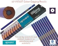 APSARA Colour Copying VIOLET Marking Pencils Laboratories Architects Draw Sketch