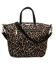 Victoria's Secret Supermodel LEOPARD Print Tote Bag Purse Duffel Multi Way  NWT