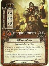 Lord of the Rings LCG - 1x Raven Chief #151 - The antlered Crown