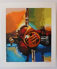 Igor Kovalev- Symphony II Limited Edition serigraph on paper Hand Signed W COA