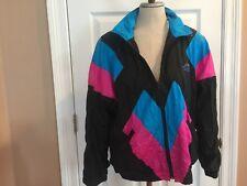 Vtg Misty Valley Sport Windbreaker Jacket Lining Vintage Women's Sz S Small SML