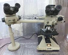Nikon Optiphot Compound Brightfield Microscope & Objective Plan 4,10,20,40,100