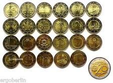 24 x 2 Euro Gedenkmünzen/Sondermünzen Komplettsatz 2014 incl. Andorra !!