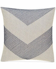 "Hotel Collection Waffle Weave Chambray 18"" x 18"" Square Decorative Pillow E286"