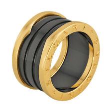 Bvlgari B Zero 18kt Pink Gold Ring - Size 52