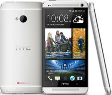 HTC One M7 4MP Quad-core Smartphone Unlocked Android OS4.1  LTE Silver 32GB EU