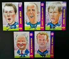 1996/97 Pro Match Caricature (Series 2) - Coventry City Complete Set (x5 Cards)
