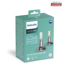PHILIPS 11972ULWX2 Ultinon LED Lampadina fari Auto (H7), 6.200K, Set di 2