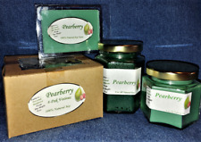**NEW** Hand Poured Fresh Fruit Scents Soy Candles, Tarts & Votives - Pearberry