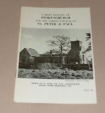 A Brief History of Stokenchurch and St Peter's Church in Buckinghamshire 1970s