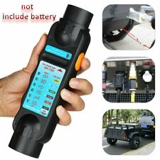 7 Pin Towing Trailer Tow Bar Caravan Light Wiring Circuit Tester Plug + Socket