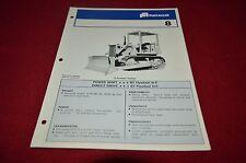 Fiat Allis Chalmers 8 Crawler Tractor Dozer Dealers Brochure YABE11 vr1
