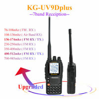 Wouxun KG-UV9D plus 7 band Walkie Talkie UV 136-174&400-512MHz Two Way Radio