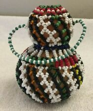 Vintage Small Hanging Beaded Latin American Pottery