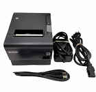 Epson TM-T88VI Thermal Receipt Printer + Power Supply & USB Cable M338A WARRANTY