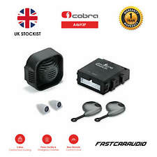 COBRA A4693P CAR ALARM IMMOBILISER KEY FOBS CENTRAL LOCKING SIREN ULTRASONICS