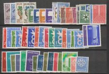 Europa Cept 1957, 1958, 1959 3 yearsets ** mnh (A1552)