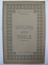 FRENCH DESIGNS FOR DRAWN THREAD WORK c. 1910s - D. M. C. Library - 2nd series