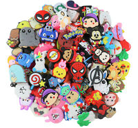 100 Mixed Pvc Shoe charms Different Shoe Charms for Croc And Wristband