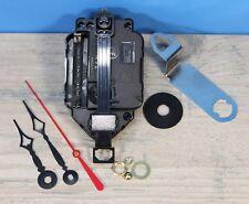 "Quartz Battery Pendulum Clock Movement Lifetime Warranty 1/4"" Thick Dial Terry"