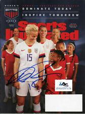 Megan Rapinoe Autograph Signed Sports Illustrated Magazine
