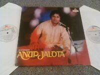 ANUP JALOTA - IN CONCERT 2X LP / MUSIC INDIA DOUBLE VINYL GATEFOLD GHAZALS