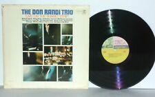 DON RANDI TRIO Live On Sunset Strip LP 1967 Mono Vinyl Reprise Jazz PLAYS WELL