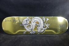 DGK Skateboard Deck Get Money Gold Foil 8.25 Free Grizzly Grip Tape Skate