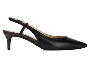 MICHAEL KORS Nora Flex leather slingback pumps size 5 new In Box Wedding Party🌈