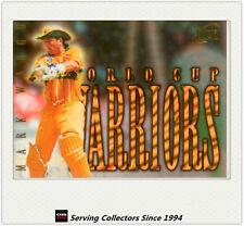 1996 Futera World Cup Cricket Cards World Cup Warriors WC9: Mark Waugh