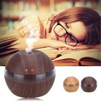 LED Essential Oil Aroma Diffuser Ultrasonic Humidifier Air Mist Aromatherapy GR