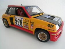 Renault 5 Turbo #598 1979 Italy Rally Frèquelin Universal Hobbies 1:18  NEU  OVP