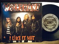 "Wolfsbane I like It Hot, Limo Live 7"" single 1989 NM UK import Def American"